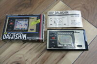 Bandai LCD Game Digital Console Daijishin Junk Untest for Parts Japan K716