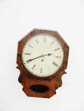 Drop Dial Fusee Clock Victorian
