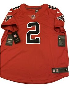 Nike Atlanta Falcons Matt Ryan #2 Red Vapor Women's Jersey Size Large $150 New