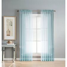 "1 Piece Solid Sheer Window Treatment Curtains Drape Panels Extra Long 60"" X 108"""