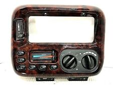 1996-1997 Chrysler Town and Country Radio Bezel wood grain