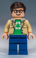 NEW LEGO LEONARD HOFSTADTER MINIFIG big bang theory 21302 figure minifigure guy