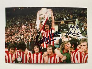 RARE Bobby Kerr Mick Horswill Sunderland 1973 Signed Photo + COA AUTOGRAPH