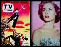 TV Guide 1953 Halloween Buelah Witch V1N31 Elizabeth Montgomery Gleason EX COA