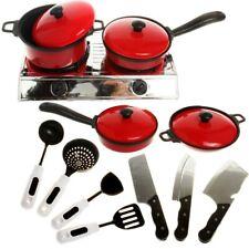 Juego de utensilios de cocina para niños incluye olla/Cocina/volteador, juego