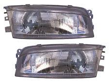 For 1997 1998 1999 2000 2001 2002 Mitsubishi Mirage Headlights Pair Set
