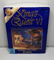 King's Quest VI Heir Today, Gone Tomorrow Sierra Apple Macintosh Mac 3.5 Floppy