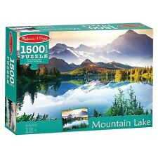 Melissa and Doug Jigsaw Puzzle Mountain Lake 1500 Pieces #9094