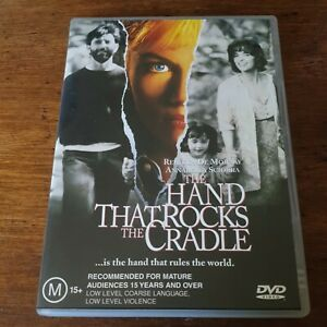 The Hand that Rocks the Cradle DVD R4 Like New! FREE POST