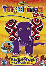 TINGA TINGA TALES WHY THE ELEPHANT HAS A TRUNK DVD KIDS 6 EPISODES