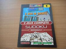 CD-ROM-PC  8 jeux de société - SUDOKU difficile 2