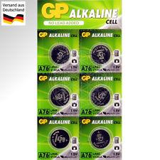 6 GP A76 LR44 1,5V Alkaline Knopf Zellen V13GA PX76A AG13 A76S G13A Battery 1.5V