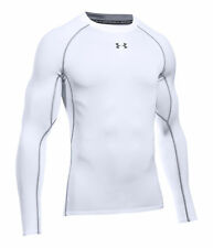 Under armour HeatGear Long Sleeve T-Shirt, Size M - White/Graphite