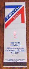 1974 OLDSMOBILE CAR DEALER: BOB WHITE CHEVROLET (BAY MINETTE, ALABAMA) -N1