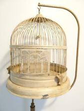 Vintage Hanging Bird Cage With Stand