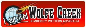 Wolfe Creek Bumper Sticker