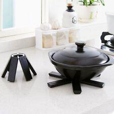 1PC ABS Kitchen Foldable Hot Pot Holder Heat Insulation Pad Non-slip Table Mat