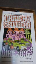 DRIVE BY TRUCKERS  11-19-2001 CONCERT POSTER RARE ORIGINAL SIGNED POSTER