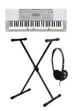 Geniales Casio Keyboard SET LK-280 Leuchttastensystem + Stativ + Headphones
