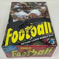 1983 TOPPS NFL Football Unopened Sealed HOBBY Trading Card BOX 36 Wax PACKS BBCE