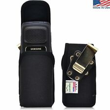 Turtleback Samsung Rugby 4 Vertical Black Nylon Phone Pouch Holster Case