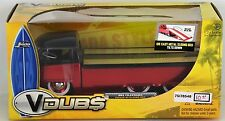 JADA V DUBS 1963 VW PICKUP SLIDING BED 1:24 RED VOLKSWAGEN JADA TOYS CARS