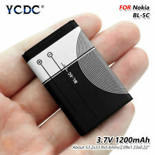 3.7V BL-5C BL5C Batería 1020mAh para Nokia 2112 2118 2270 2280 2300 2600 2610