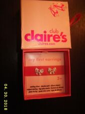 Claire's Pendant and pair of earings. New in box.