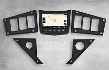 NEW 2017 POLARIS RZR XP 1000 RIDE COMMAND BLACK DASH PANEL 6 SWITCH OPENINGS