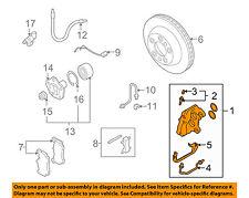 PORSCHE OEM 08-10 Cayenne Rear Brake-Disc Caliper Assembly 95535242232