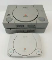 Lot Of 3 Sony PlayStation 1 PS1 Consoles *Not Working* For Parts or Repair