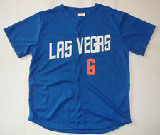 New LAS VEGAS 51s WALLY BACKMAN #6 NEW YORK METS Blue Minor League JERSEY XL
