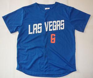 LAS VEGAS 51s Wally Backman #6 NY Mets Aviators SGA MiLB Minor League Jersey XL