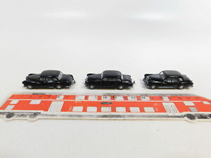 CJ402-0, 5 #3x wiking H0 / 1:87 Oldtimer Mercedes-Benz / MB With Hitch, VG