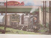Andy Romano Railroad CNJ Art Print