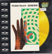 Genesis-Visible Touch cd video maxi single 9 inch Sealed
