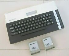 Vintage ATARI 800XL HOME COMPUTER + 2 Games Pole Position & Joust UNTESTED