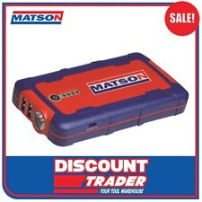 Matson 12V Lithium-Ion Jump Starter - MA9000