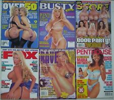 SIX x Mixed Glamour Magazines. Fox; Busty; Rave; Penthouse; Over 50; Score.