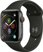 Apple Watch Series 4 GPS + Cellular LTE 44mm Space Gray Aluminum Heavy Scratches