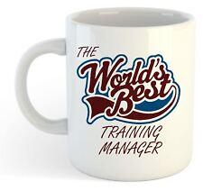 The Worlds Best Training Manager Mug