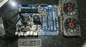 Bare Bones i7-990X Extreme Edition + Dell Area51 + 12GB DDR3 + ASUS STRIX GTX980