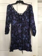 LIU JO Summer dress mini Beachwear Coverup Made in Italy 44 S/M Cotton 100% $380