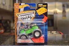Grave Digger Monster Jam Diecast Truck (Hot Wheels)(2016)(Stunt Ramp)