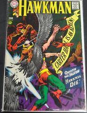 HAWKMAN #22 - 1967 (3.5) QUOTH THE FALCON: HAWKMAN DIE!