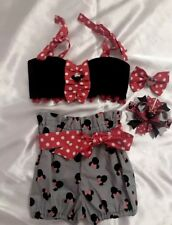 Minnie Mouse Outfit Disney Outfit Birthday Outfit Size 2/3