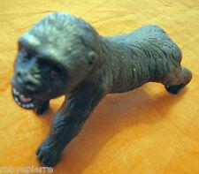 Animale GORILLA di gomma molto morbida con valvola ad aria 14 cm x 8 gorille