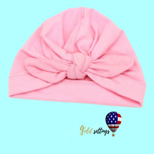 New born Photography props girl Toddler Baby Turban Beanie Hat Photo Clothes Cap