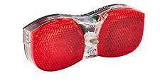 XLC Luggage rack LED Battery Light Set Incl reflector   NEW FREE UK PP