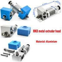Tête d'extrudeuse en métal MK8 pour imprimante 3D Creality 3D CR10/10S Ender3/3S